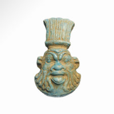 Egyptian Turquoise Faience at Artemissiion